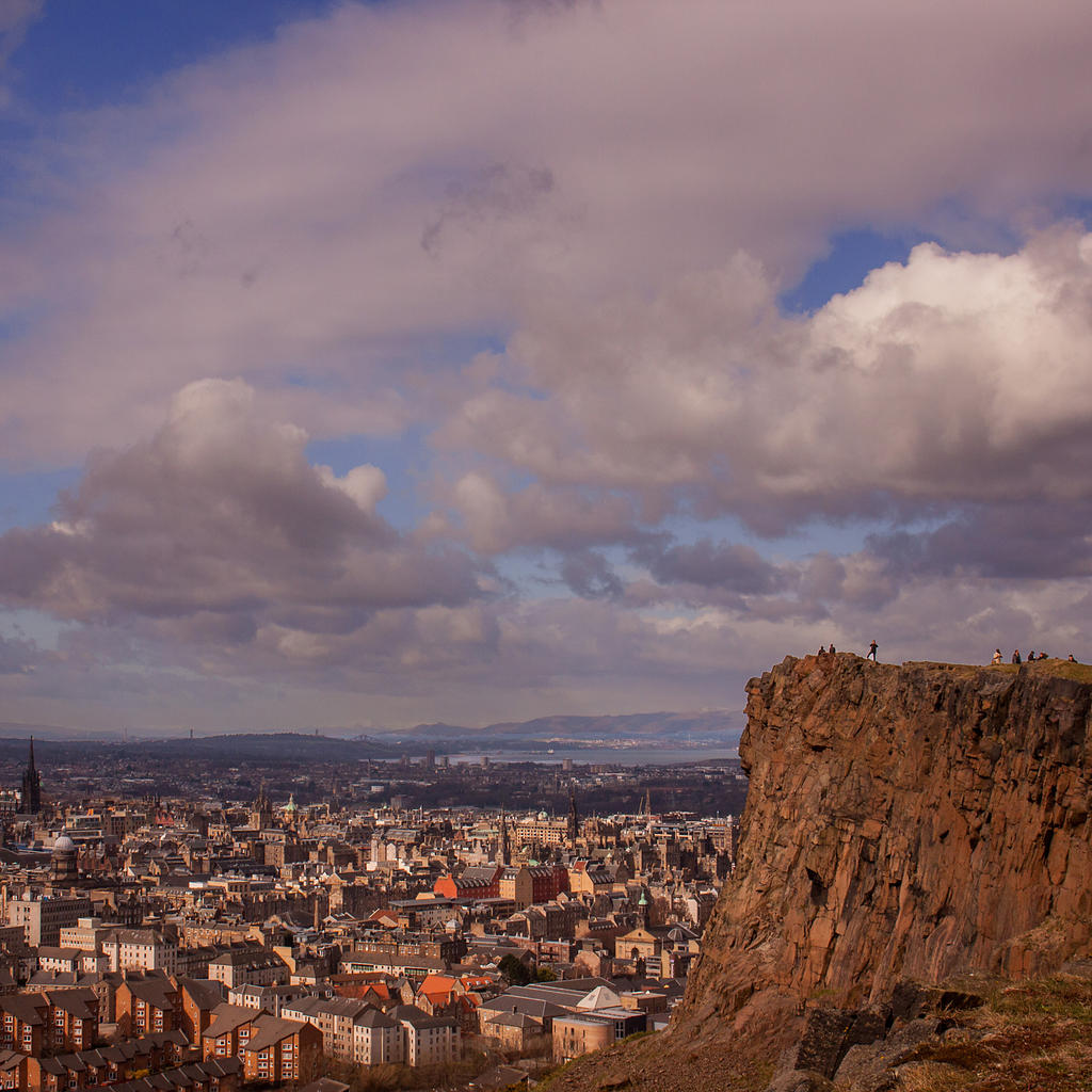 Admire Edinburgh from the top of Arthur's Seat