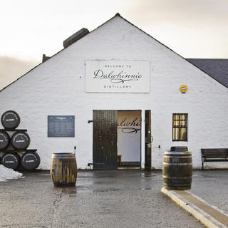 Dalwhinnie: the highest distillery in Scotland