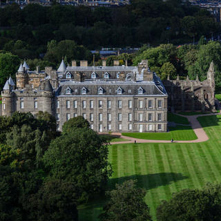 Palace of Holyroodhouse, une résidence royale