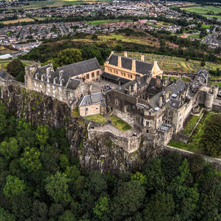 Stirling Castle: the memory of the past