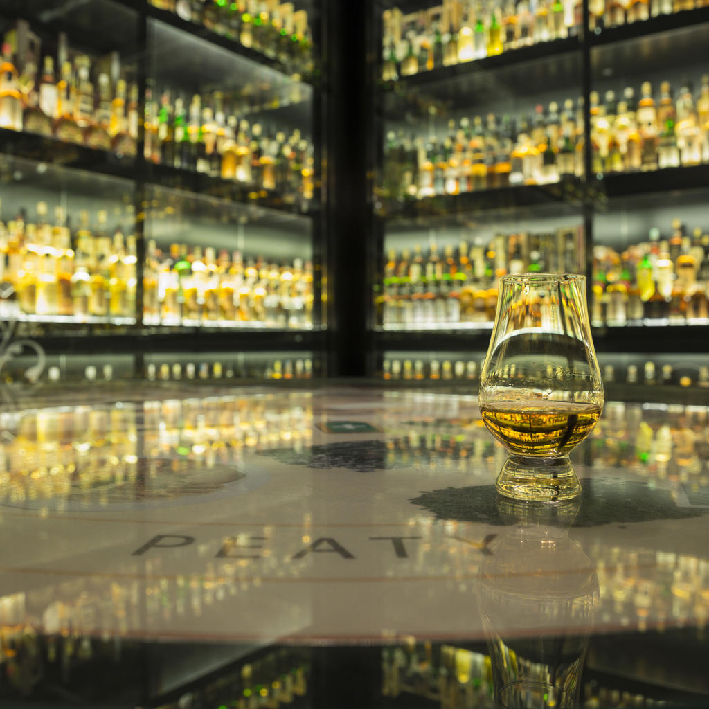The Scotch Whisky Experience: a museum of whisky