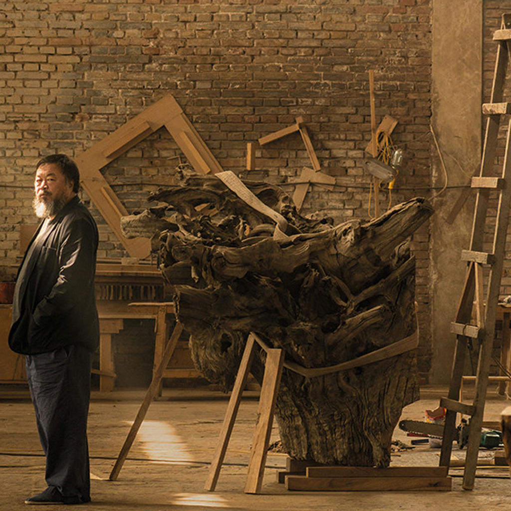Ai Weiwei at the Palazzo Strozzi in Florence