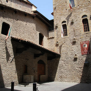 Museo Casa di Dante, the house of the father of the Italian language