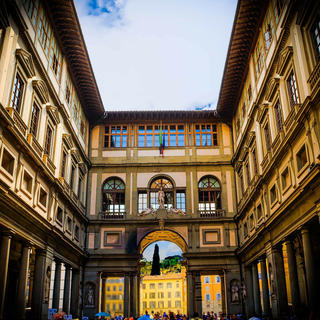 The Uffizi Gallery: an anthology of all Italian art