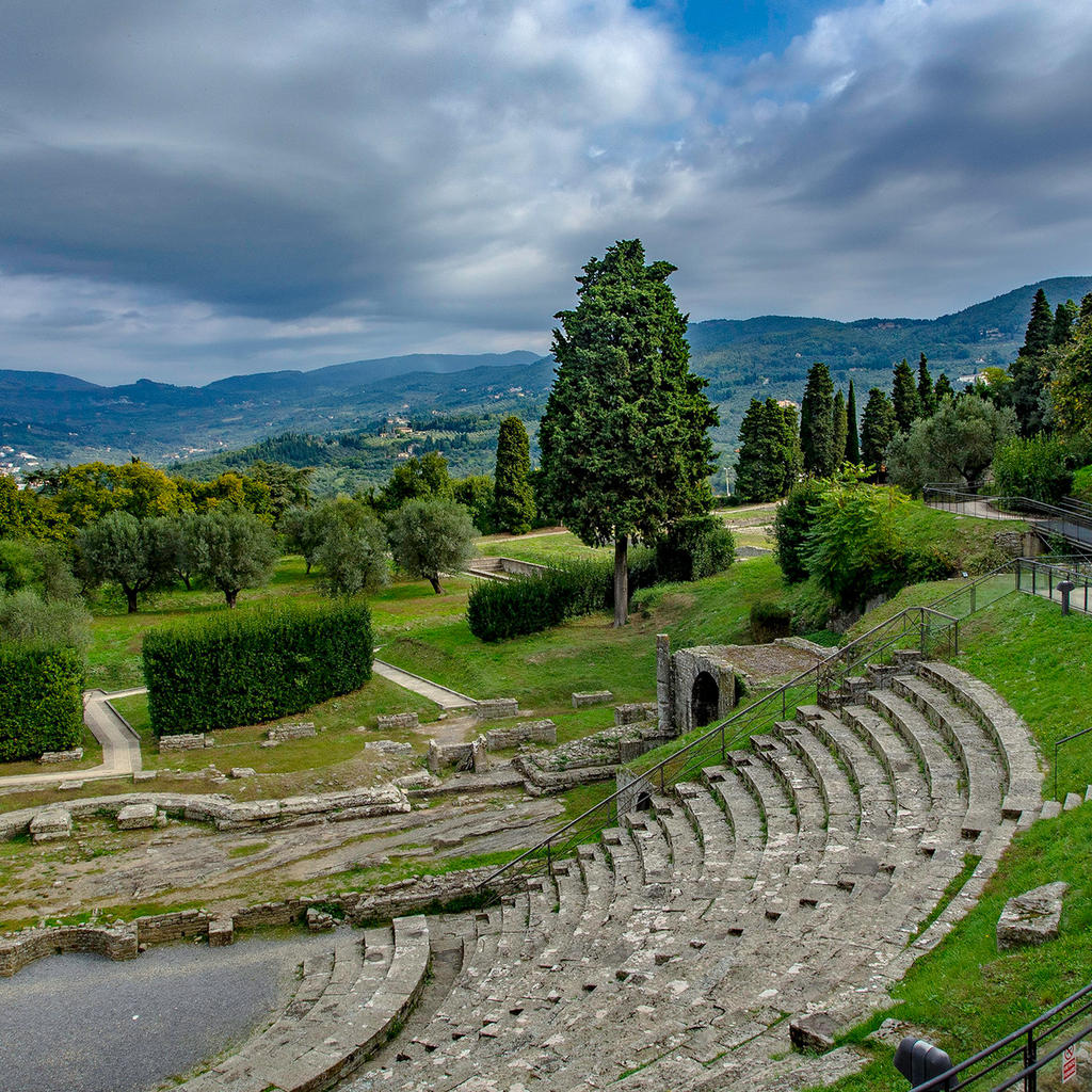 Pop over to Fiesole to see its Roman amphitheatre