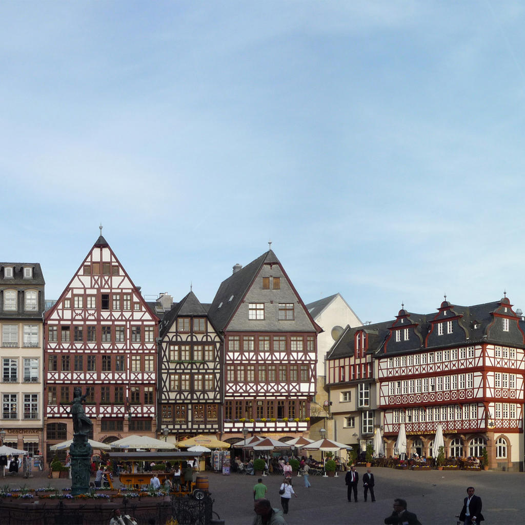 Römerberg: the historic centre of Frankfurt