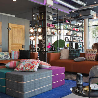 Trendy stay at Moxy Frankfurt East