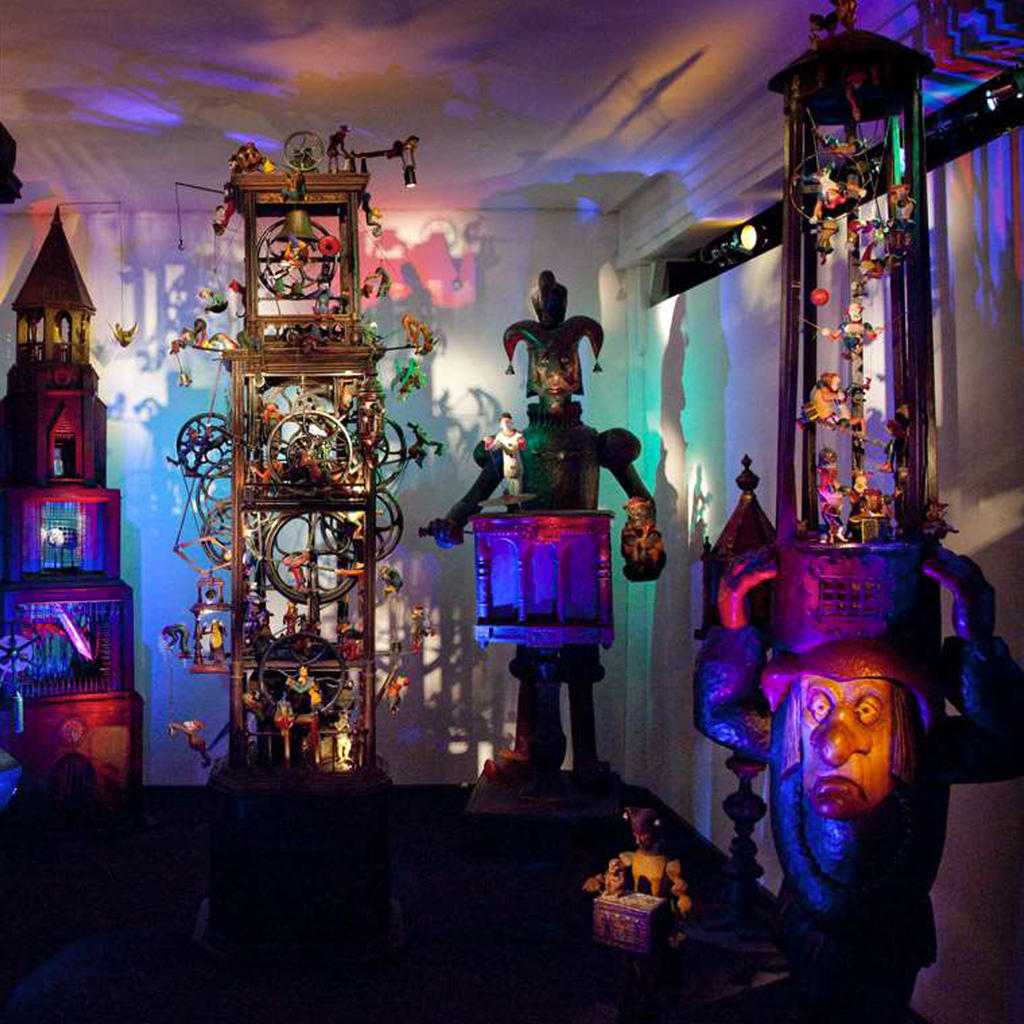 Fall back into childhood at the Sharmanka Kinetic Gallery & Theatre