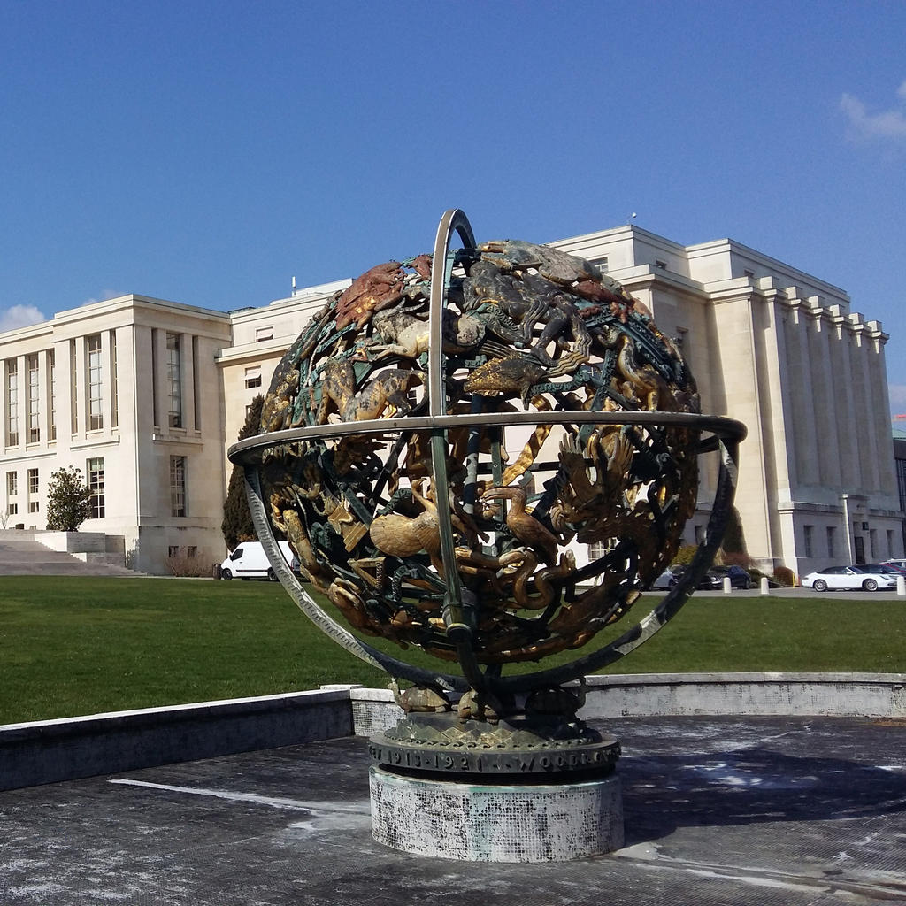 The United Nations: a palace as grand as Versailles