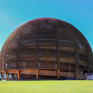 The Globe of Science and Innovation of the European Council for Nuclear Research (CERN)