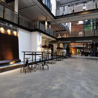 The Gastwerk Hotel, an industrial hotel with ultra-modern decor