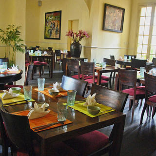 Madame Hien Restaurant, Vietnam as seen from France