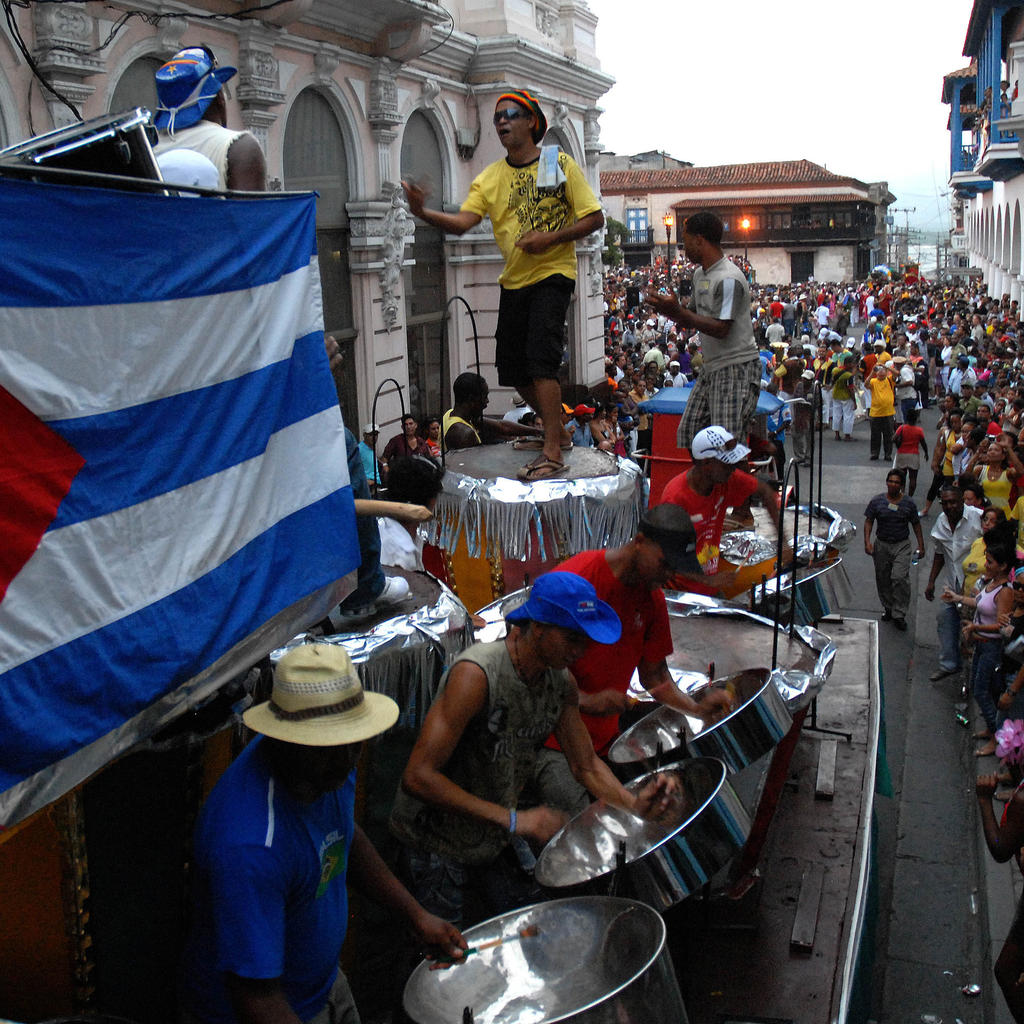 The most famous carnival in the Caribbean