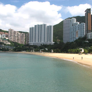 Go to the beach at Repulse Bay and look for the dragon
