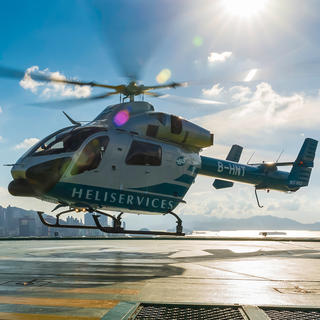 Better than Manhattan : discover Hong Kong by helicopter