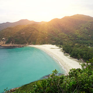 On Hong Kong's finest sports beaches