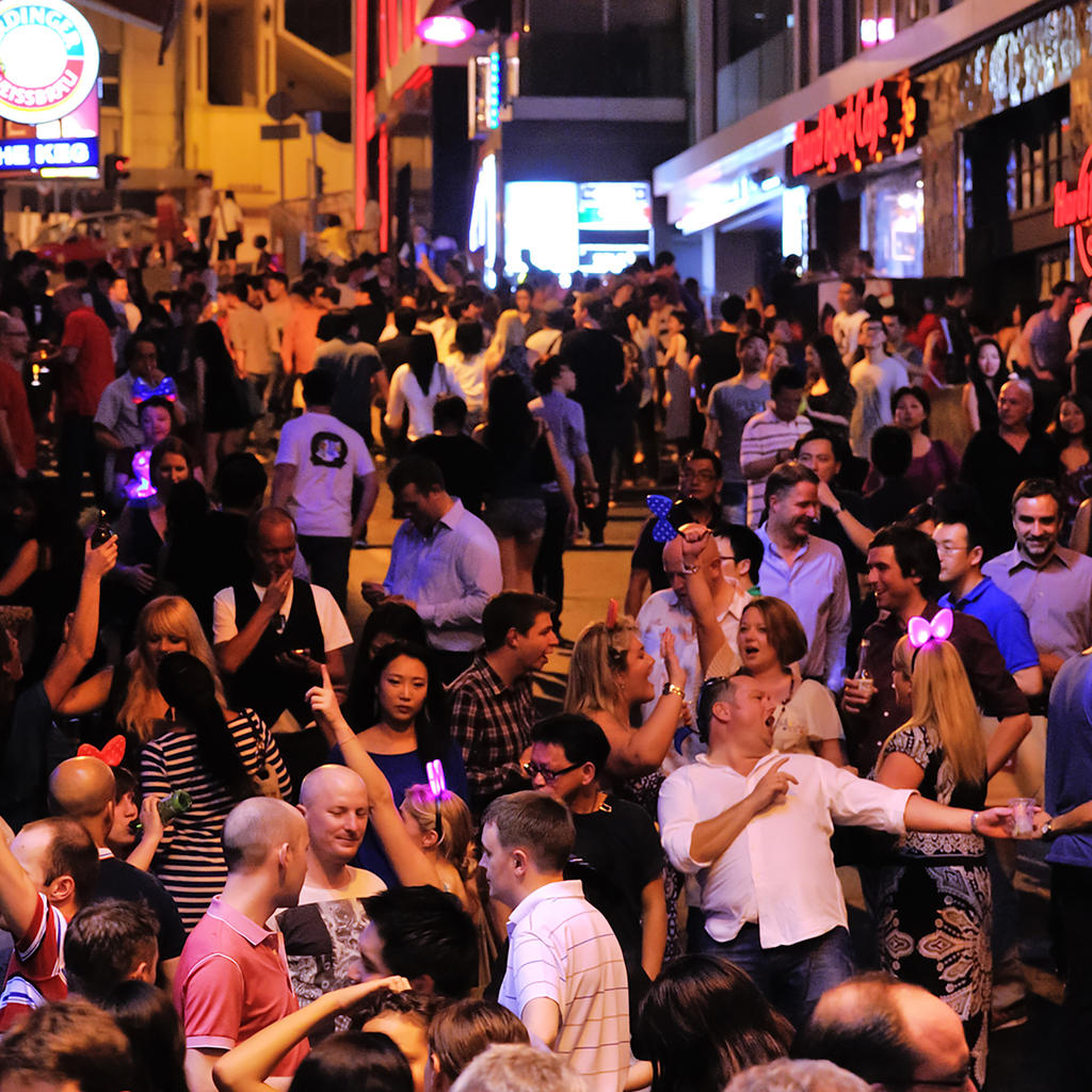 Join the party at Lan Kwai Fong, an unrivalled Hong Kong specialty