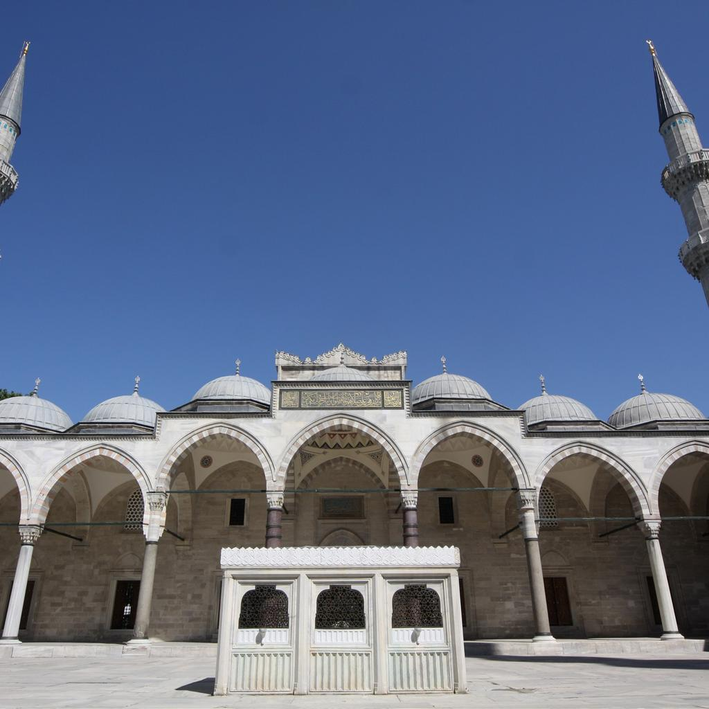 The Mosque of Suleiman the Magnificent
