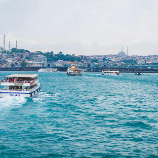 Romantic cruise on the Bosphorus