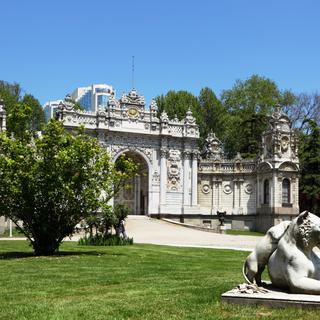 Dolmabahçe Palace, the last imperial residence