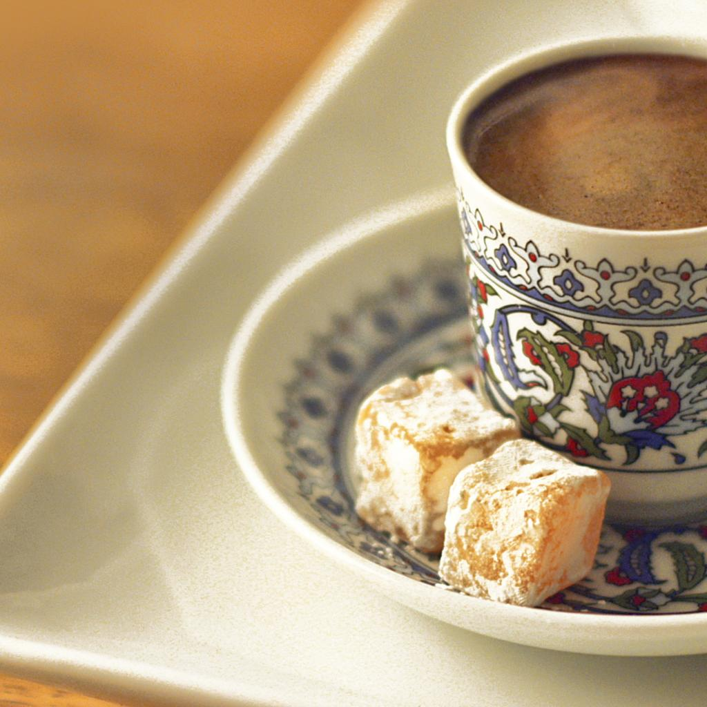 Turkish coffee, or nothing!