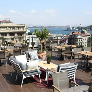 Karaköy, a bank converted into a charming hotel