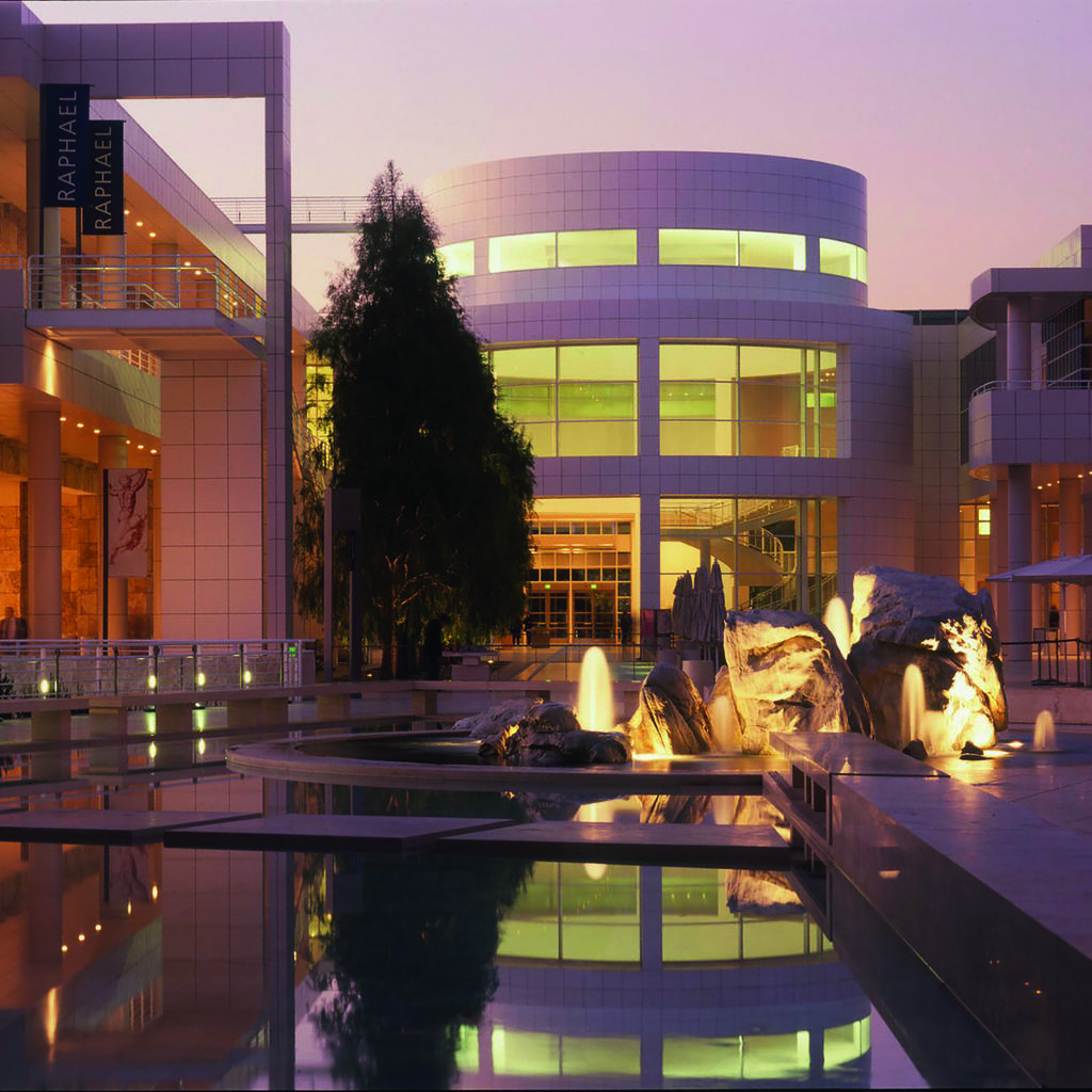 Getty Center: a concentration of culture
