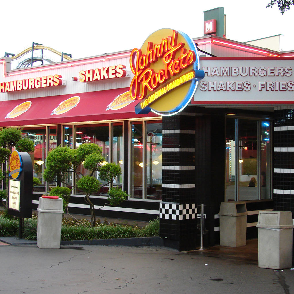Johnny Rockets, the taste of America
