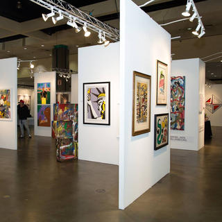 Le LA Art Show au LA Convention Center