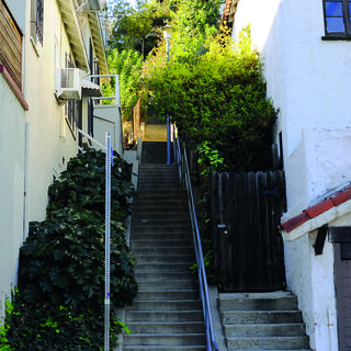 Hollywood's secret stairs: off the beaten track