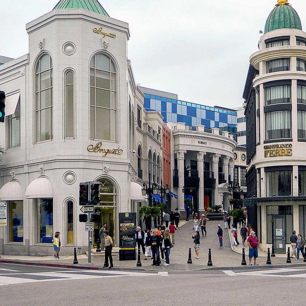 Rodeo Drive: Beverly Hills' shopping paradise