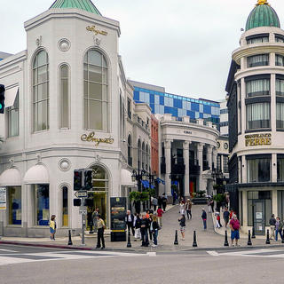 Rodeo Drive: Beverly Hills' shopping mecca