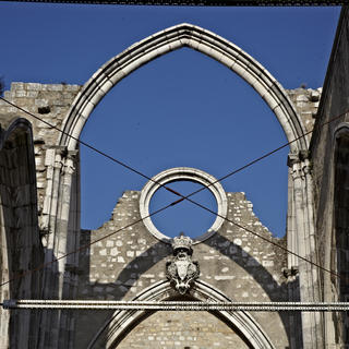 Carmo Convent, home of the Archaeological Museum
