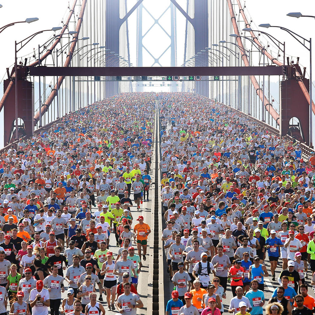 The Lisbon Marathon, a race Rock 'n' Roll style