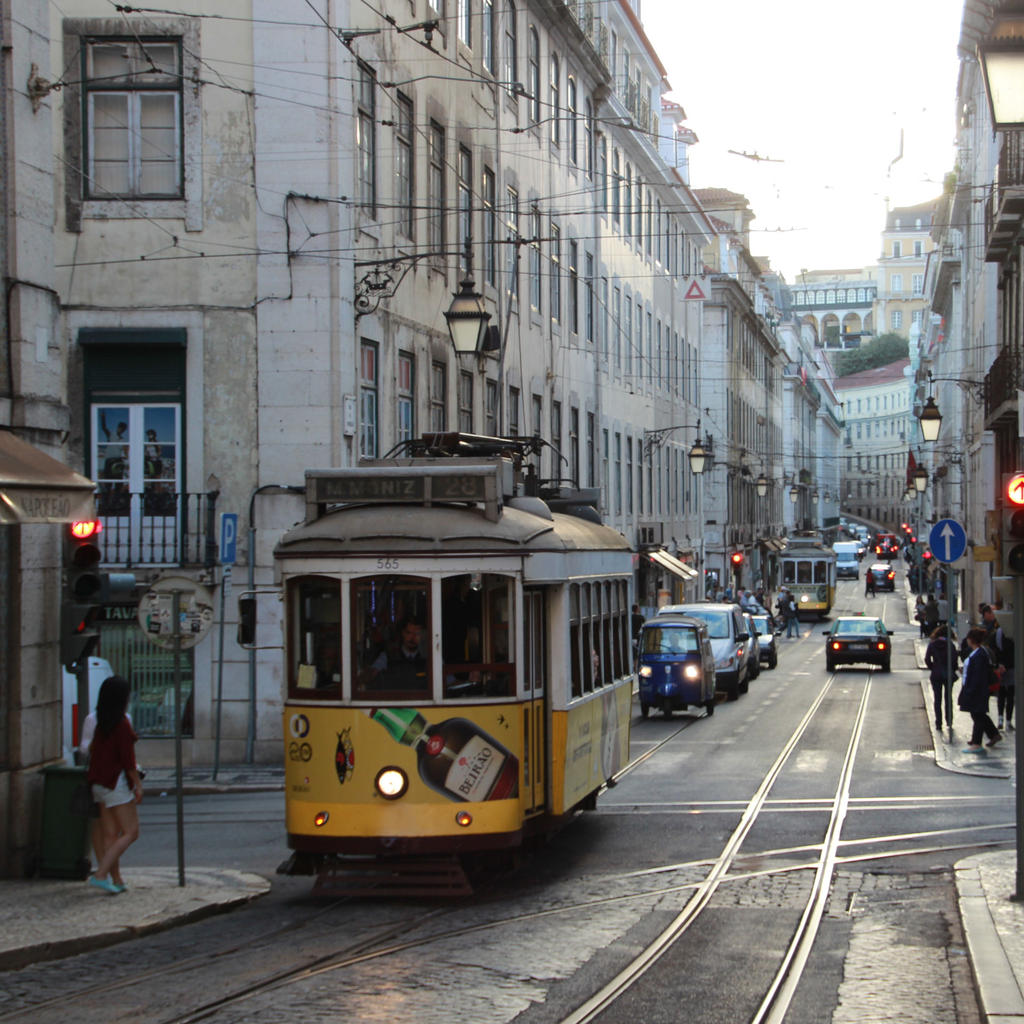 Tramway: Climb aboard the yellow wagon and travel back in time
