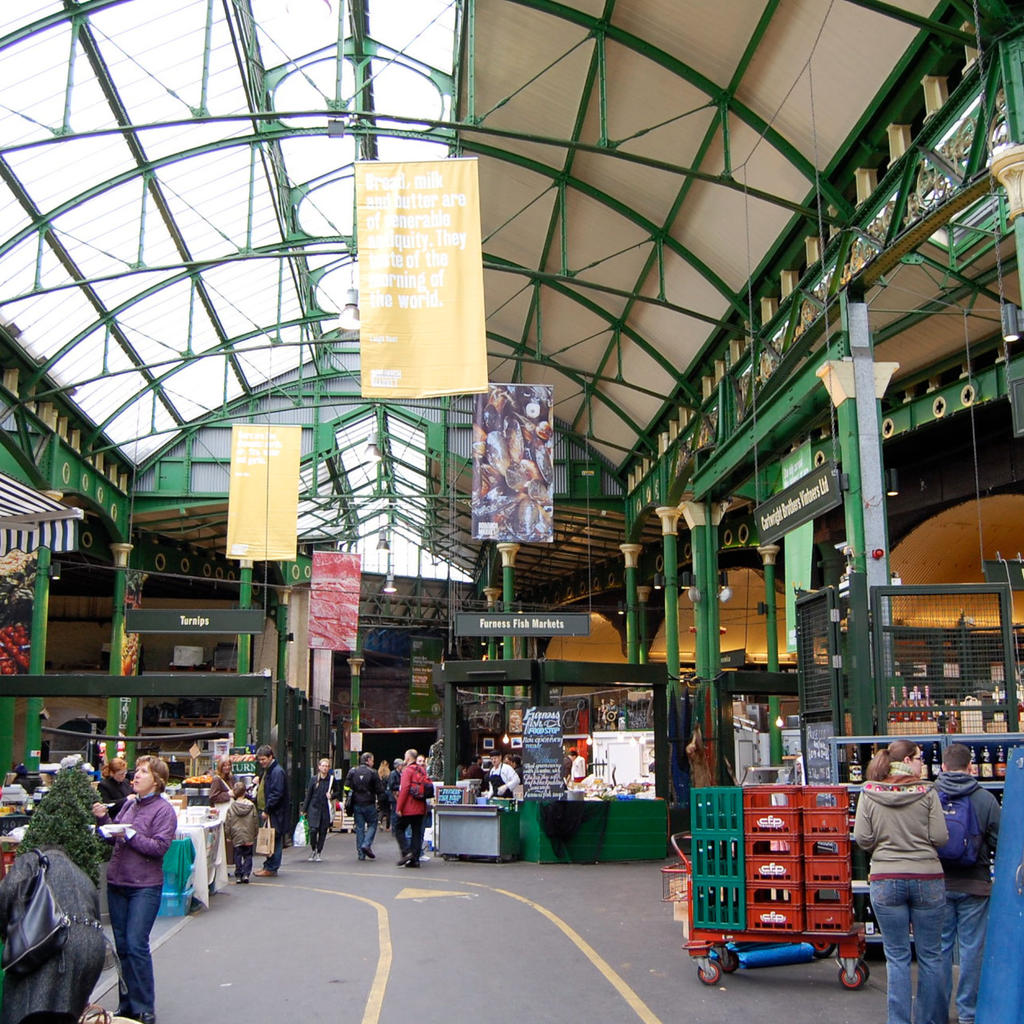 Borough Market: pause for a bite