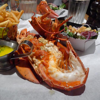 Burger and Lobster: it's one or the other!