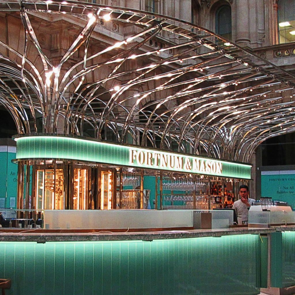 Fortnum & Mason: temple of tea and quality groceries