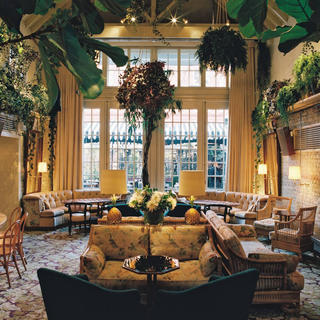 The charm of a private home at the Chiltern Firehouse