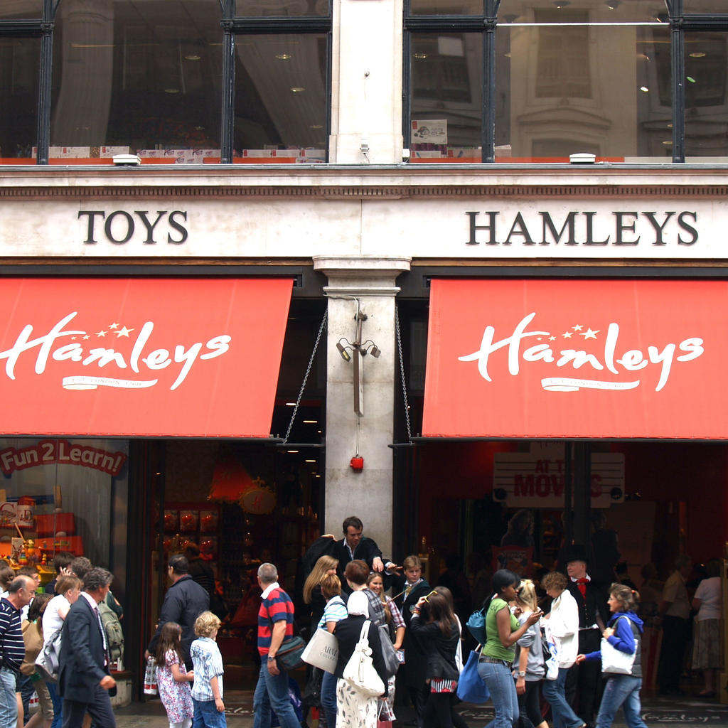 Hamleys: a place to become a child again