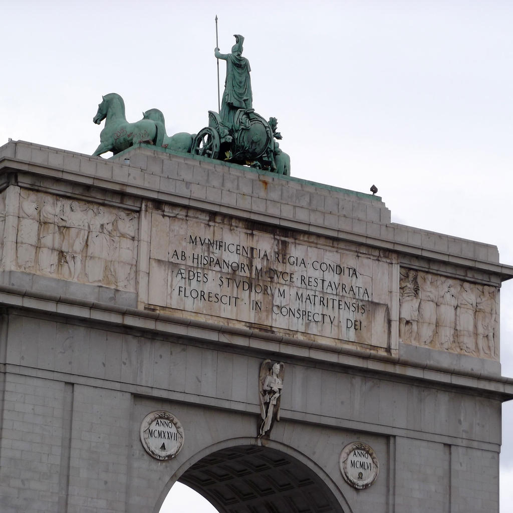 Arco de la Victoria: the Madrid of the dictatorship