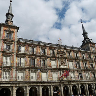 La Plaza Mayor, Madrid des Habsbourg
