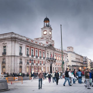 Puerta del Sol: under Goya's brush