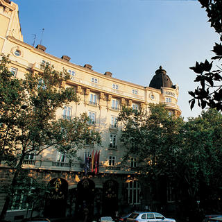 The Ritz Madrid and its enchanting gardens