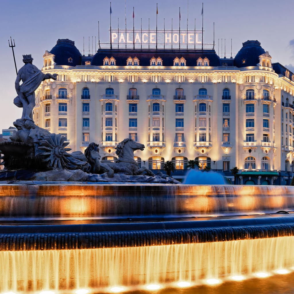 The Westin Palace: on the heels of Rita Hayworth