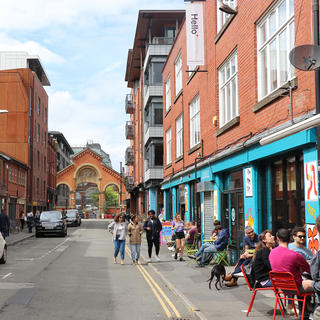 Urban stroll in Manchester's alternative neighbourhood