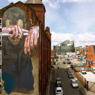 Looking for street art in Manchester
