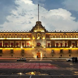Palacio National: ancient palace of Spanish viceroys
