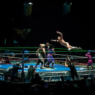 Watch a lucha libre match at Arena Mexico