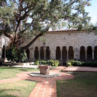 An Ancient Spanish Monastery rebuilt in Miami